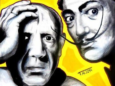 Salvador Dali ve Picasso