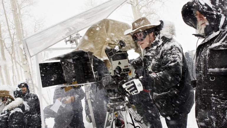 The Hateful Eight Kamera Arkası - Behind Screen