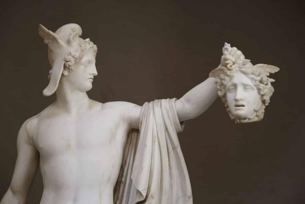 Vatikan Müzesi, Perseus ve Medusa'nın Kafası