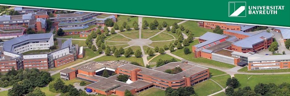 Bayreuth Üniversitesi / Kültür ve İletişim Bilimleri Partner Üniversitesi