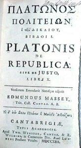 220px Plato Republic 1713 | Yeni Dünya'nın Doğuşu ve Sanattaki Yeri: Distopya