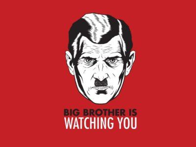 42878 1 other wallpapers big brother is watching you   Yeni Dünya'nın Doğuşu ve Sanattaki Yeri: Distopya